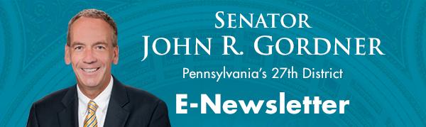 Senator John R. Gordner E-Newsletter